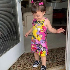 Young Versace Toddler Dress